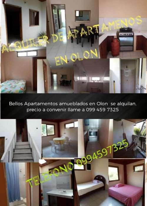 Apartamentos en Olon Amueblados