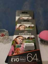 Memorias Sd de 32,64,128 Marca Samsung