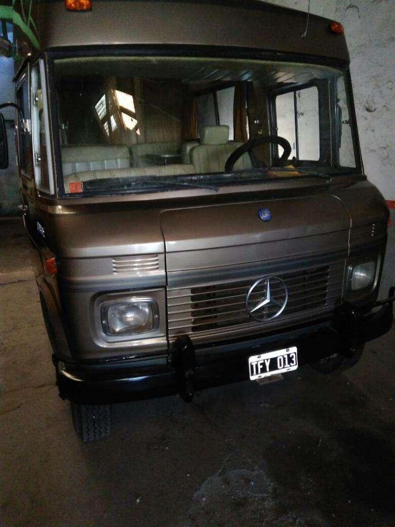 Motorhome Mercedes 608d