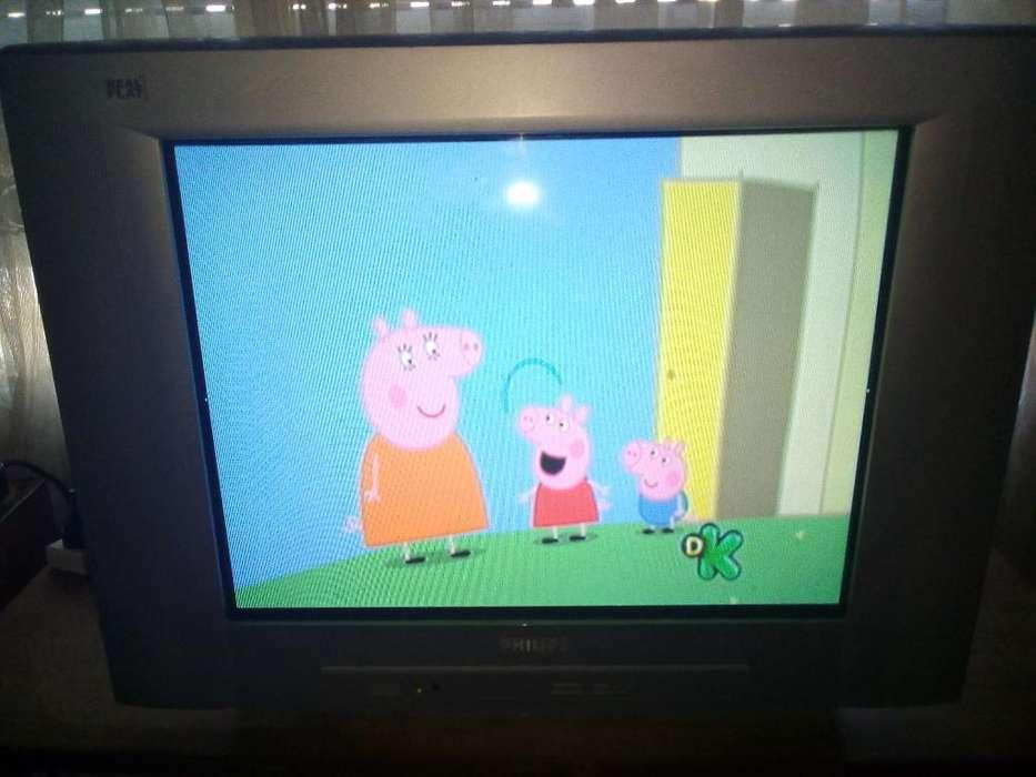 Tv Philips 21' Cómo Nueva