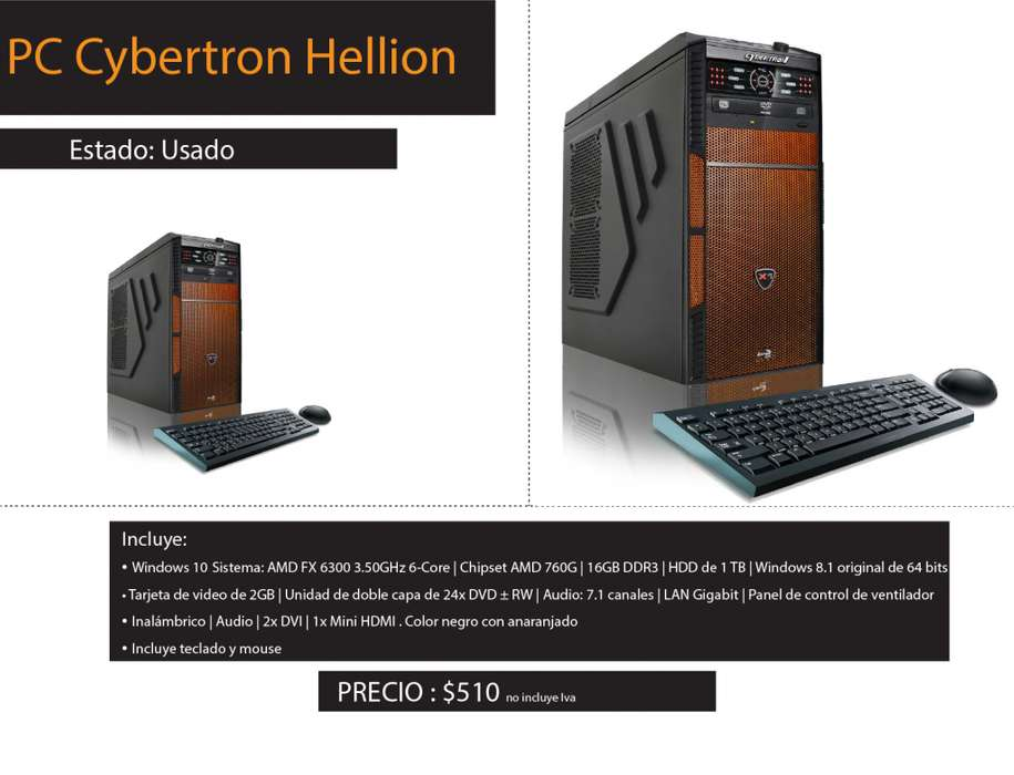 PC Cybertron Hellion