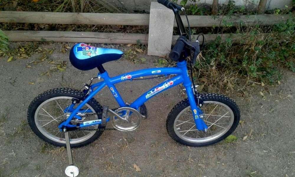 Bicicleta Rod 16 Varon C Frenos Niños