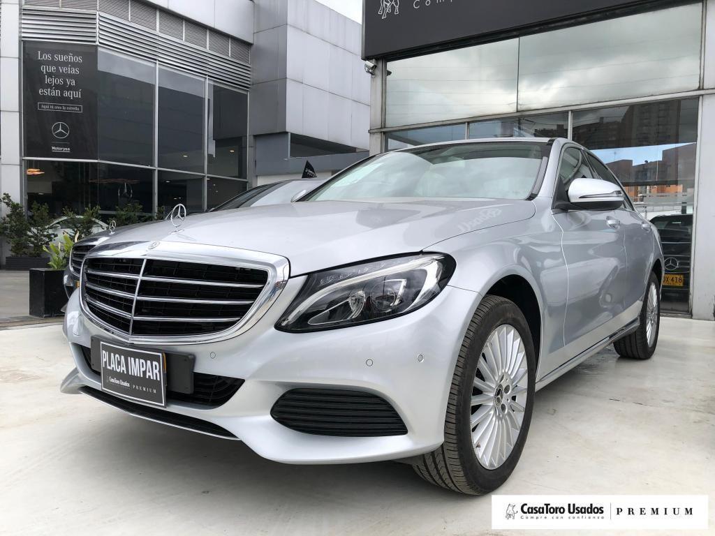 Mercedes Benz Clase C200 Exclusive 2000cc 2018
