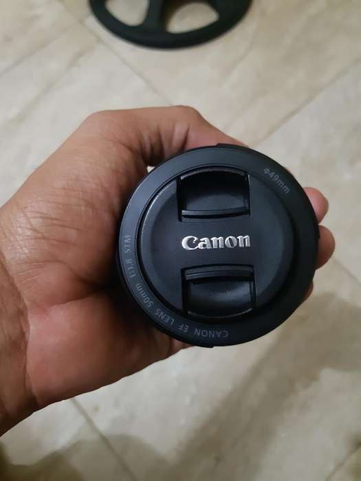 Lente <strong>canon</strong> 50mm 1:1.8 Stm