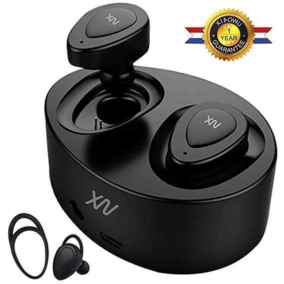 Audifonos XIAOWU K2 K5 mini gemelos auriculares Bluetooth, con microfono.