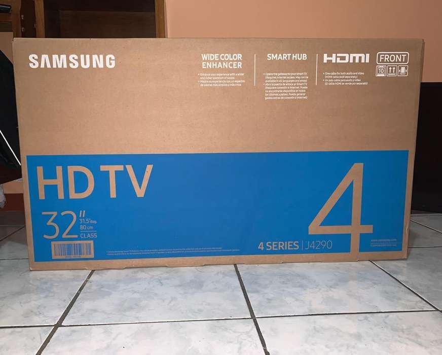 Samsung Hdtv (Smart-Tv)32''