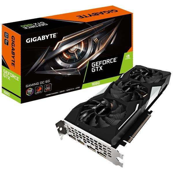 Tarjeta De Video Gigabyte Gtx 1660 Gaming 6gb 3 Ventiladores