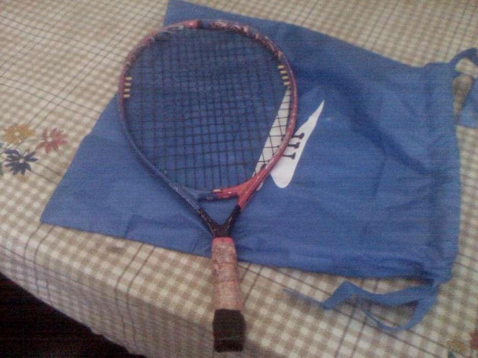raqueta tenis junior wilson buen estado 7 a 10 años