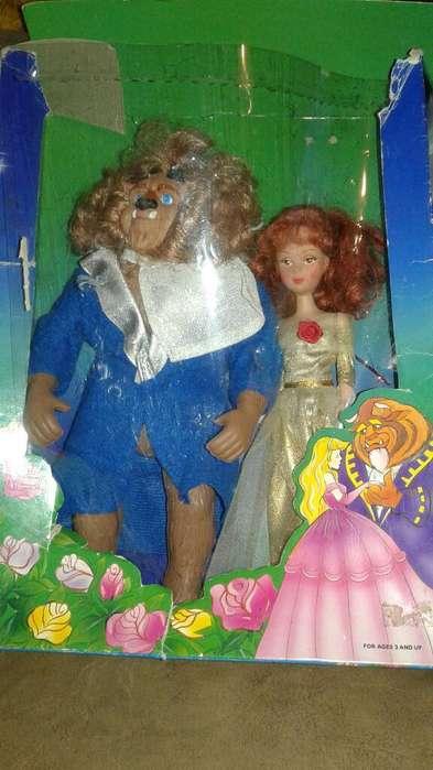 Bella Y Bestia de Años 90 mas album de figuritas de la época