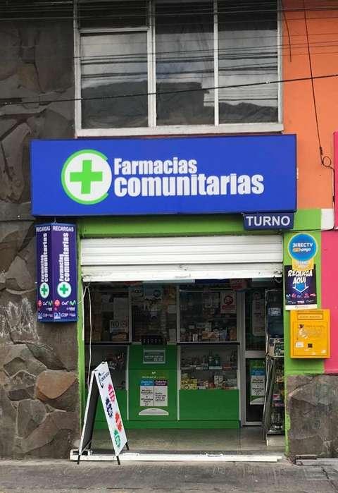 Se Vende <strong>farmacia</strong> por Conocoto. Quito