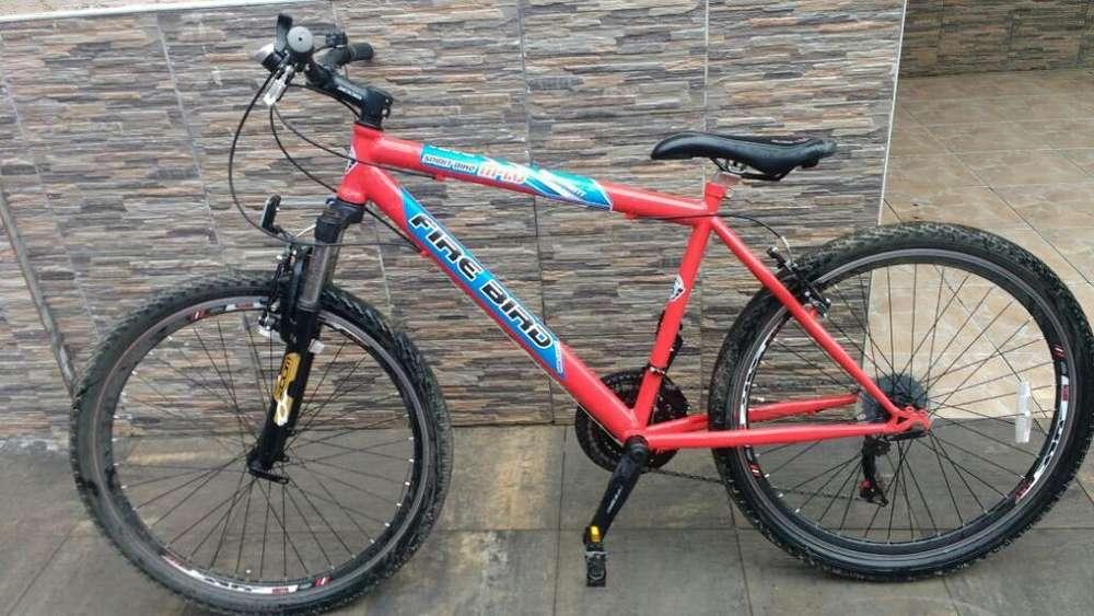 Bicicleta Mtb Fire Bird Impecable Rod 26