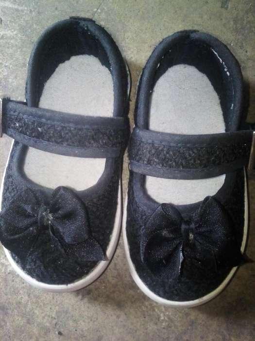 Zapatos de Niña Talla 18