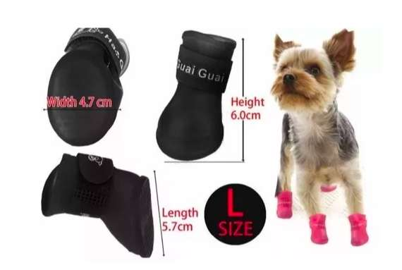 Botas impermeables para <strong>perro</strong>s talla L