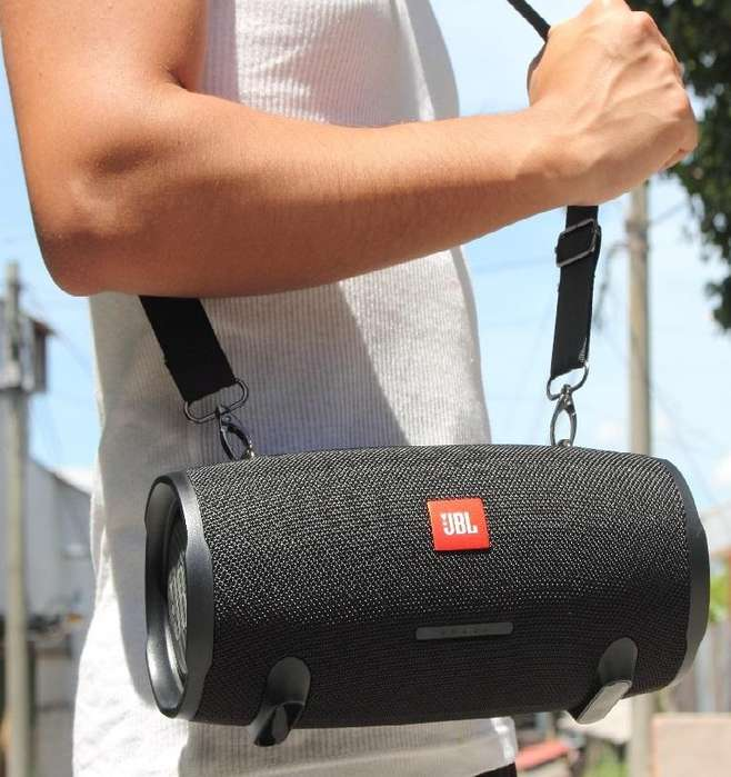 JBL ALTAVOCES BLUETOOTH SUBWOOFER DE AUDIO BAJO, PORTÁTIL XTREME 2 MUSIC