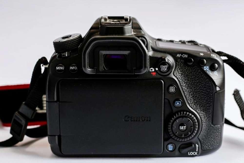 Canon 80D Profesional 10/10. Precio Negociable. Cámara