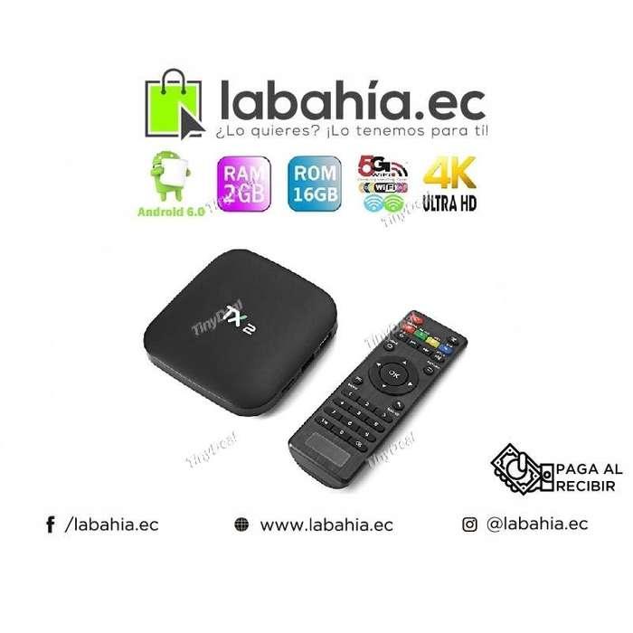 Tv Box Tx2 con 2gb de Ram y 16gb de almacenamiento
