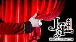 Magos. Show de Magia en Cali. Magos Jorge y Andrexy.