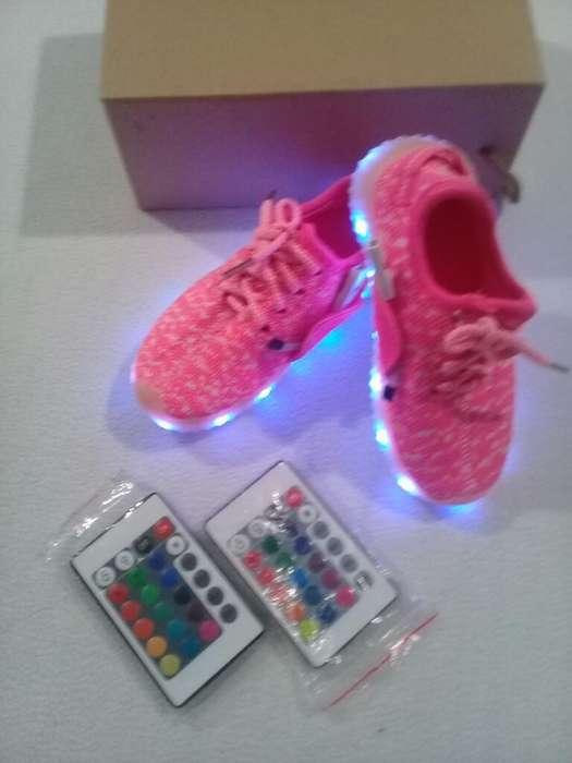 Zapatillas con Luces Nuevas