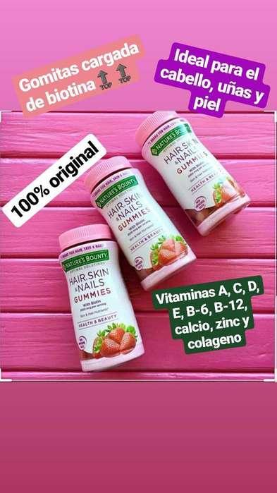Gomitas de Biotina Y Vitaminas