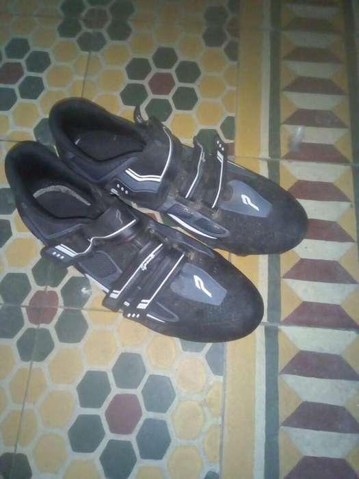 Vendo Zapatillas de Ciclismo Mtb
