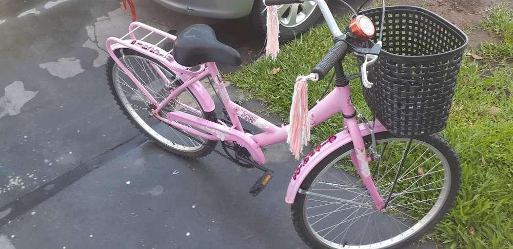 Bicicleta de Nena Rodado 20