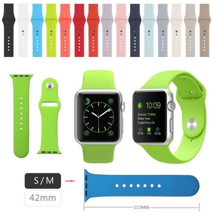 Apple Watch Band Correa Pulso Banda Silicona