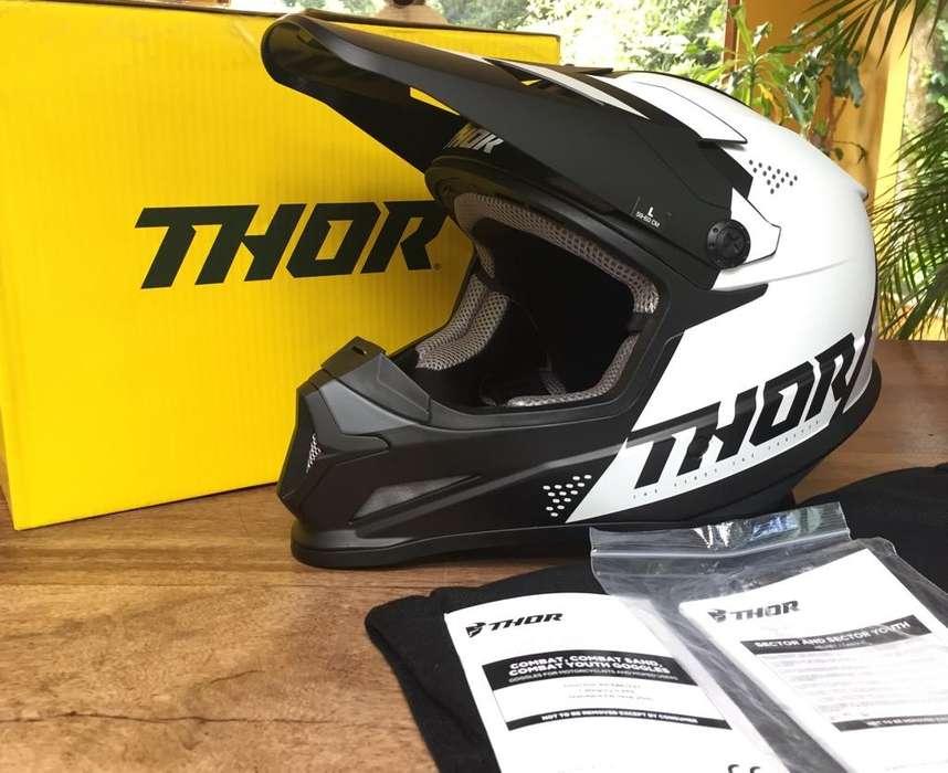 Vendo Casco Motocross; Enduro Thor Mx