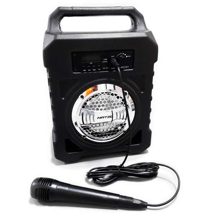Vendo Parlante Bluetooth Speaker Anti-Golpes, Con micrófono