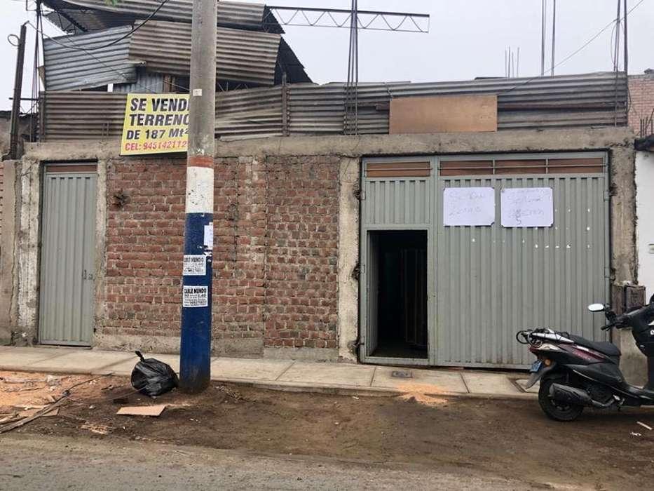 Ocasión: Vendo terreno de 187m2 con titulo de propiedad en Urbanización