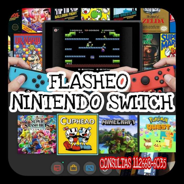 NINTENDO SWITCH - FLASHEO