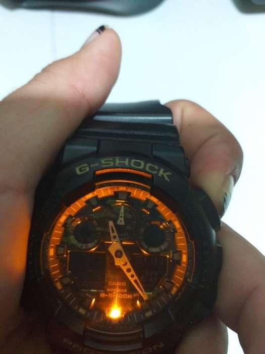 Reloj Casio G Shock Camuflaje Ga100cf1a9