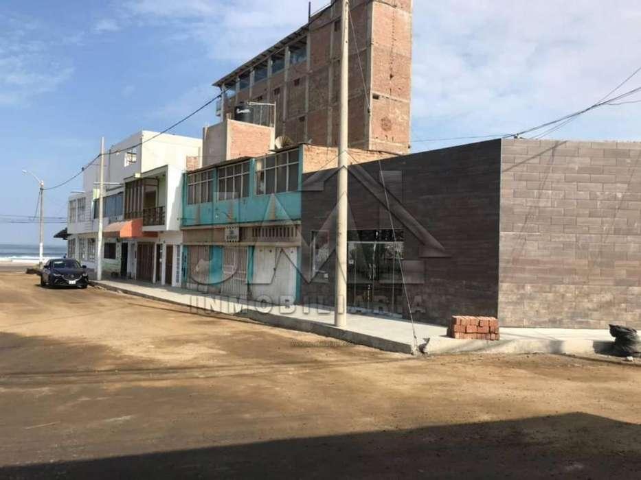 Ocasión! Remato Casa a Precio de Terreno Zona Comercial en Huanchaco. TERRENO VENTA