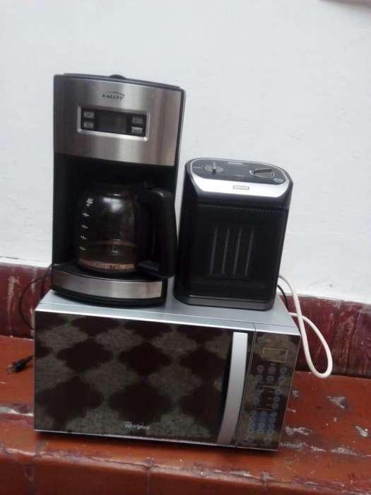microondas cafetera calefaccion