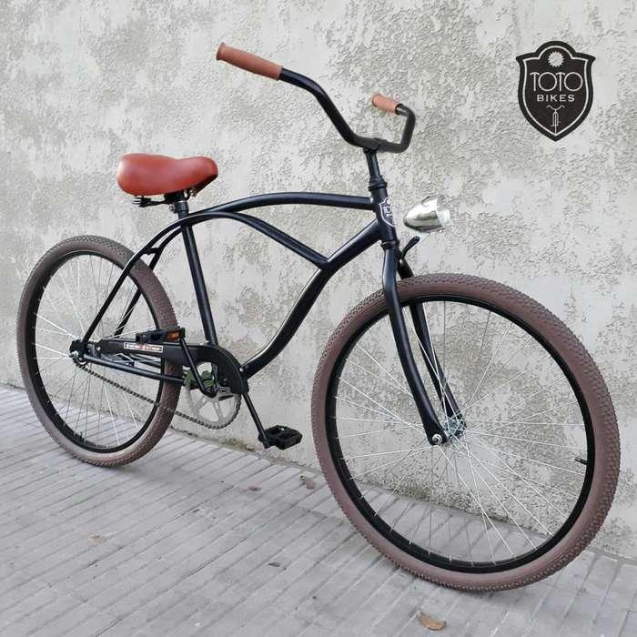 Bicicleta Playera Paseo R26 Nuevas Personalizables
