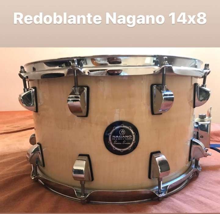 Redoblante Nagano 14X8 10 Afinaciones