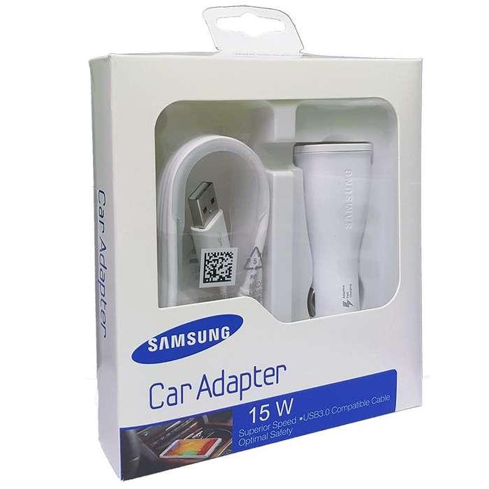 Cargador Samsung Carro Tipo C Y Micro Us