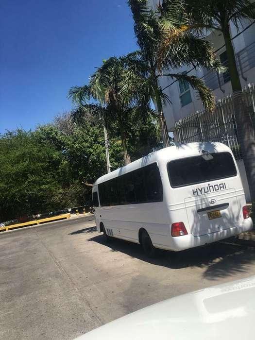 Busetas Hyundai 2012