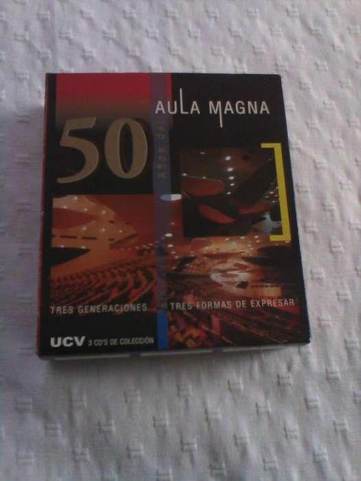 3 CD Aula Magna música venezolana nuevos 450