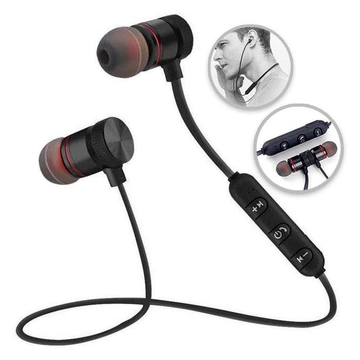 Audífonos Deportivos Bluetooth Magnéticos Manos Libres RF M9