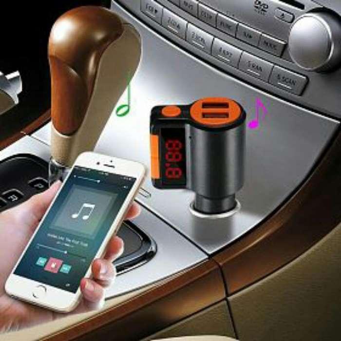 Transmisor <strong>bluetooth</strong> para Auto