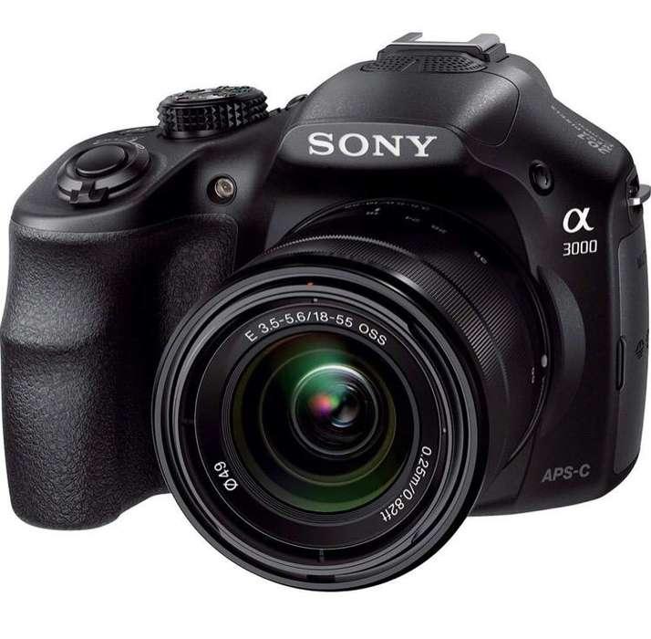 Camara Sony A3000