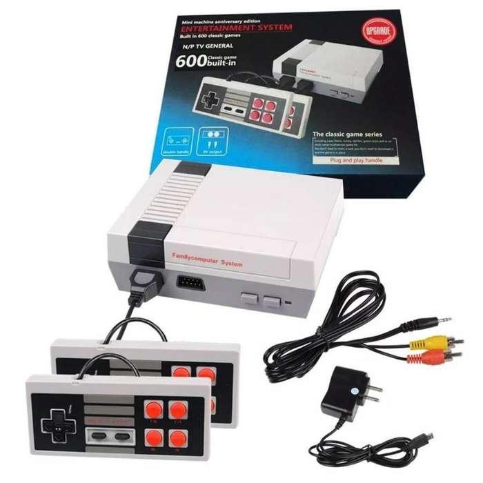Mini Nintendo <strong>nes</strong> Retro con 600 Juegos