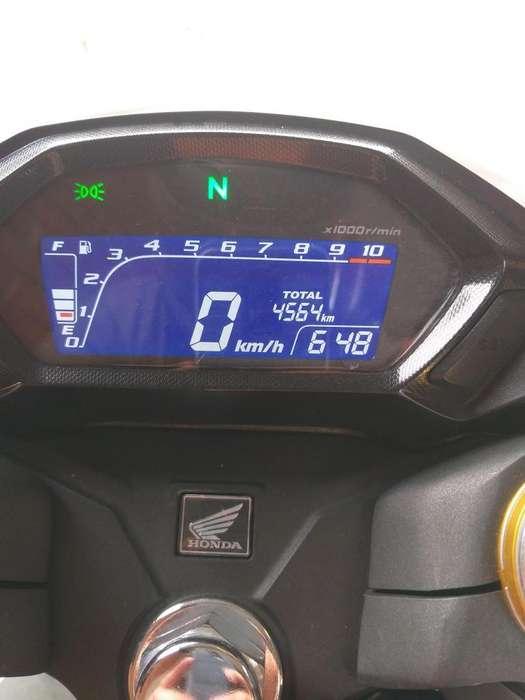 Honda Cb190r Blanca Como <strong>nueva</strong>