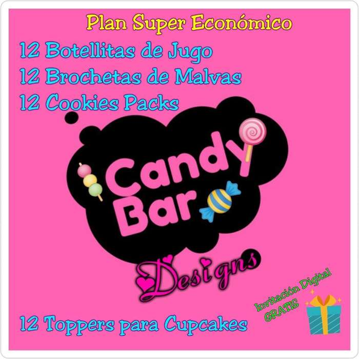 Productos Personalizados para Candy Bar