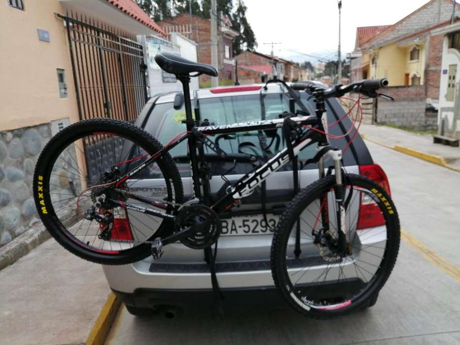 Bicicleta de Montaa Focus Raven 26 Porta bicicleta