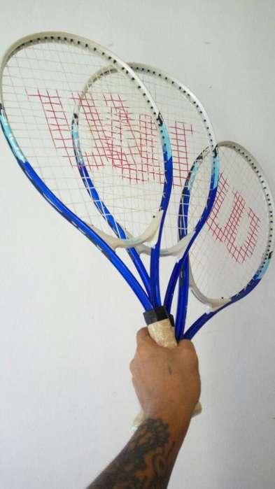Raquetas Wilson Usadas