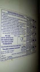 Termotanque Señorial 85 Ls ( Pinchado )