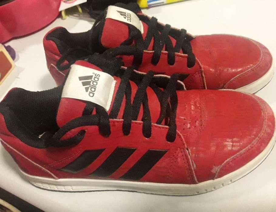 Zapatilla Adidas Original Niño T.33.5