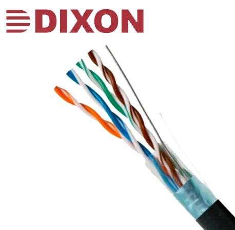 Cable STP Cat. 5e 4Px24 AWG para Exteriores – 305m – Negro