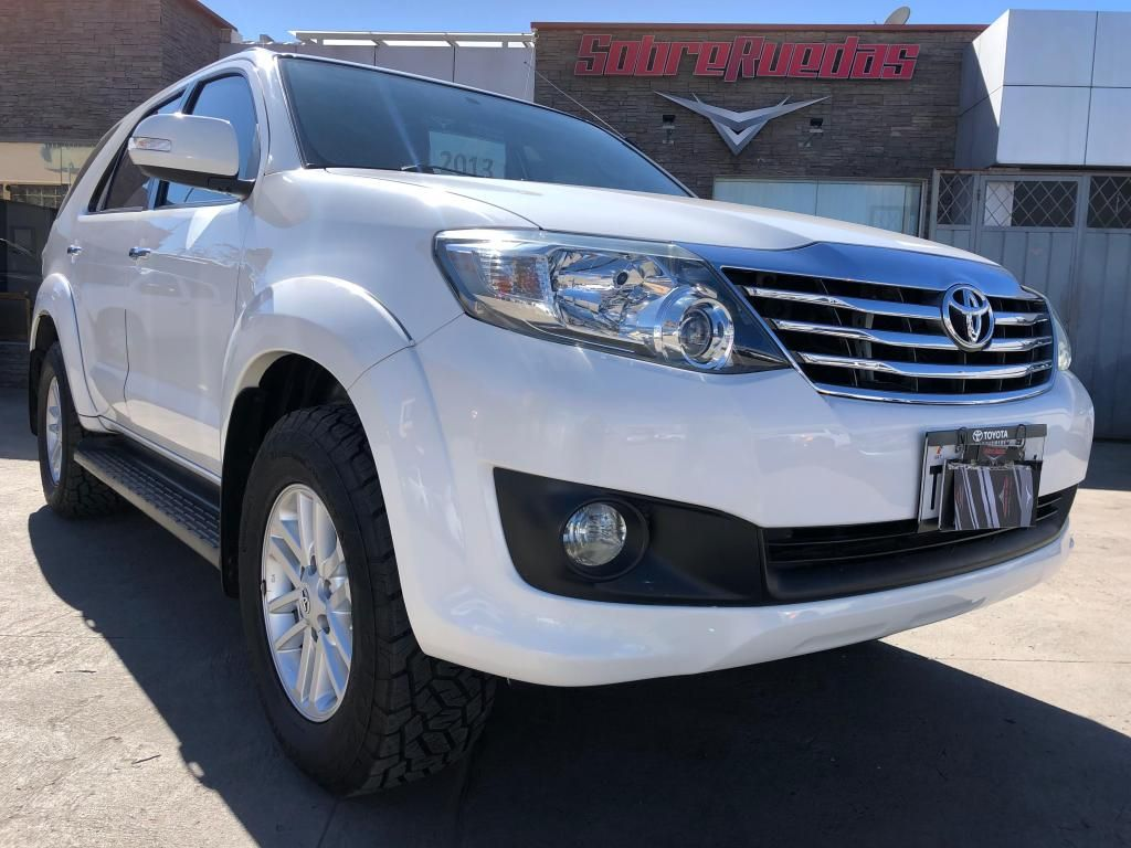 TOYOTA FORTUNER 2013 MANUAL